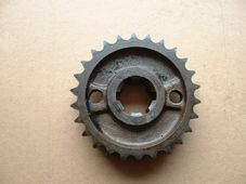 E3734  70-3734, Sprocket, Triumph 3TA, 5TA T100  unit twins, 26 Tooth duplex